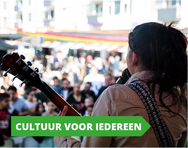 Gemeenteraadsverkiezingen programma GroenLinks Utrecht - Cultuur