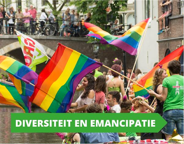 Gemeenteraadsverkiezingen programma GroenLinks Utrecht - Diversiteit en Emancipatie