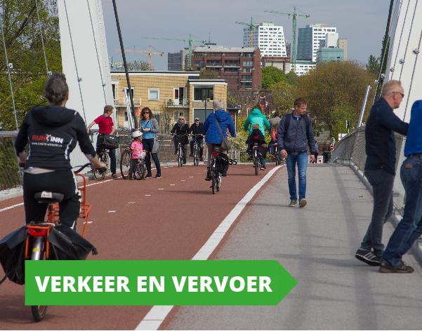 Gemeenteraadsverkiezingen programma GroenLinks Utrecht - Verkeer en Vervoer