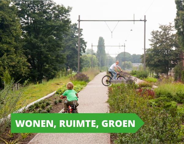 Gemeenteraadsverkiezingen programma GroenLinks Utrecht - Wonen, Ruimte en Groen